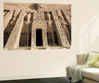 Egypt, Abu Simbel, Temple of Nefertari and Hathor-Michele Falzone-Giant Art Print
