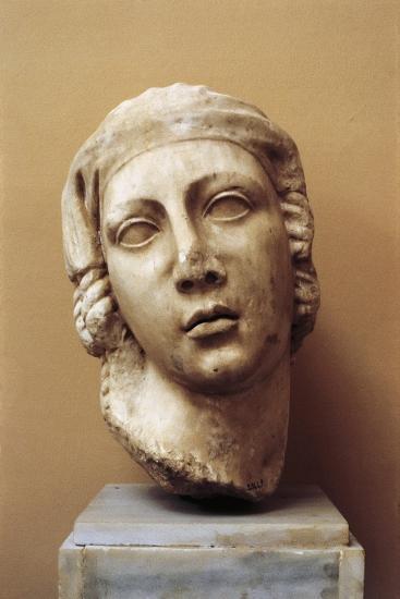 Egypt, Alexandria, Female Head--Giclee Print