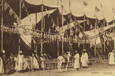 Egypt - Arab Celebration--Photographic Print