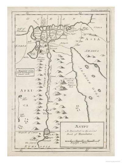 Egypt as Described by Herodotus--Giclee Print