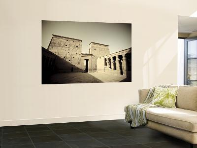 Egypt, Aswan, Philae, Temple of Isis-Michele Falzone-Wall Mural