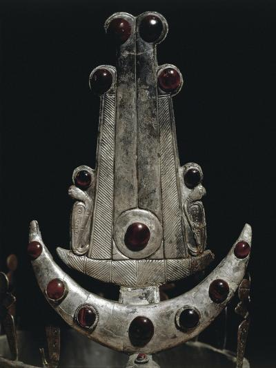Egypt, Ballana and Qustul, Detail of Diadem with Silver and Semi-Precious Stones--Giclee Print