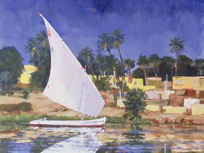 Egypt Blue-Clive Metcalfe-Giclee Print