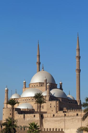 Egypt, Cairo, Citadel, Mosque of Muhammad Ali-Catharina Lux-Photographic Print