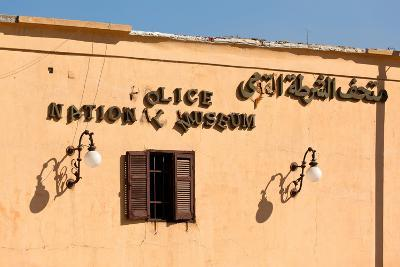 Egypt, Cairo, Citadel, Police Museum, Lettering-Catharina Lux-Photographic Print