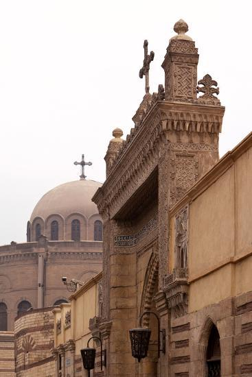 Egypt, Cairo, Coptic Old Town, Church El Muallaqa, the Hanging Church-Catharina Lux-Photographic Print