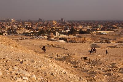 Egypt, Cairo, Giza, Evening Light-Catharina Lux-Photographic Print