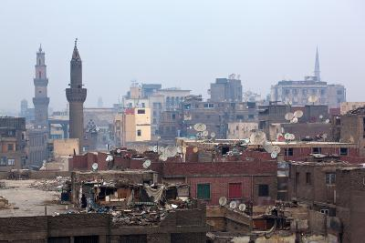 Egypt, Cairo, Islamic Old Town, Garbage Problem-Catharina Lux-Photographic Print