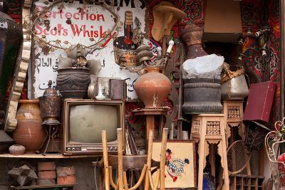 Egypt, Cairo, Islamic Old Town, Shop, Junk-Catharina Lux-Photographic Print