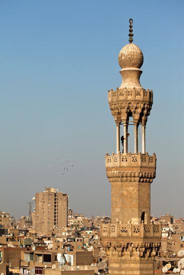 Egypt, Cairo, Minaret-Catharina Lux-Photographic Print