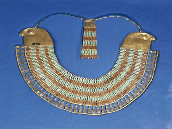 Egypt, Cairo, Necklace That Belonged to Princess Neferuptah, Twelfth Dynasty--Giclee Print