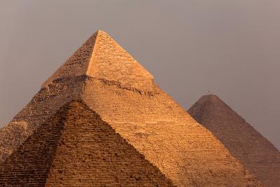 Egypt, Cairo, Pyramids of Giza-Catharina Lux-Photographic Print