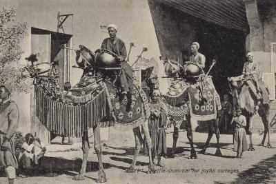 Egypt - Kettle Drummer for Joyful Corteges--Photographic Print