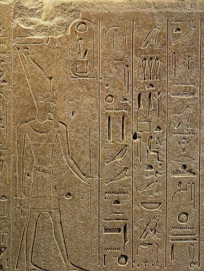 Egypt, Luxor, Ancient Egypt Museum, Quartzite Obelisks of Hatshepsut from Temple of Amon in Kanak--Giclee Print