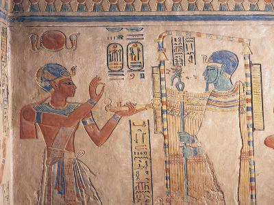 Egypt, Luxor Governorate, Valley of Queens, Tomb of Amenherkhepshef--Giclee Print