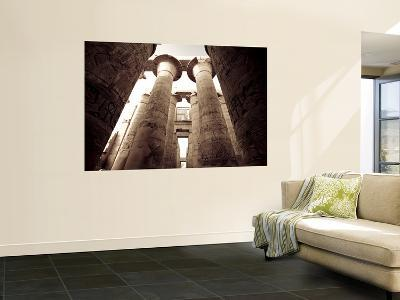 Egypt, Luxor, Karnak, Temple of Amun, Great Hypostyle Hall-Michele Falzone-Wall Mural