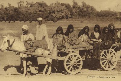Egypt - Ready for a Drive--Photographic Print