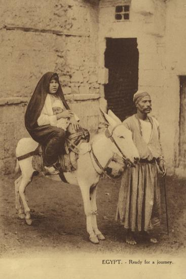 Egypt - Ready for a Journey--Photographic Print