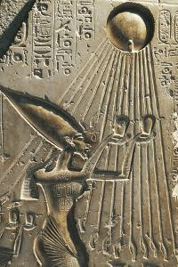 Egypt, Tell El-Amarna, Bas-Relief Depicting Amenhotep IV