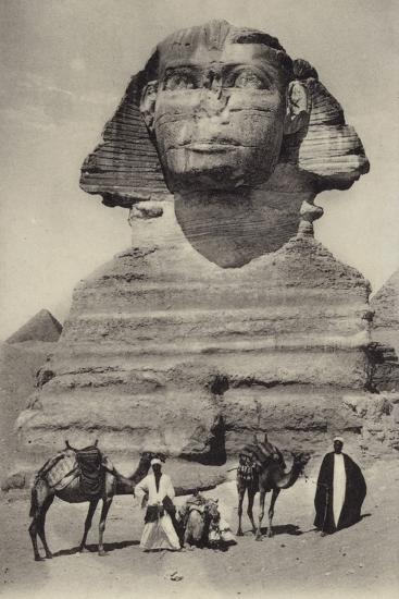 Egypt - the Sphinx--Photographic Print