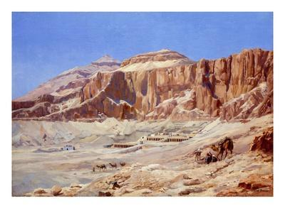 Egypt, the Valley of the Kings-Walter Prell-Premium Giclee Print