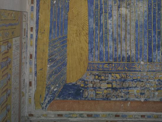 Egypt, Thebes, Luxor, Valley of the Kings, Tomb of Ramses IV--Giclee Print