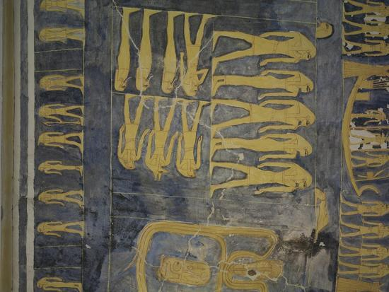 Egypt, Thebes, Luxor, Valley of the Kings, Tomb of Ramses IX--Giclee Print