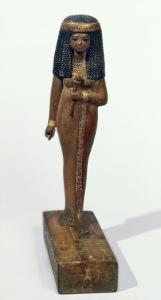 Statue of the Lady Nay, New Kingdom by Egyptian 18th Dynasty