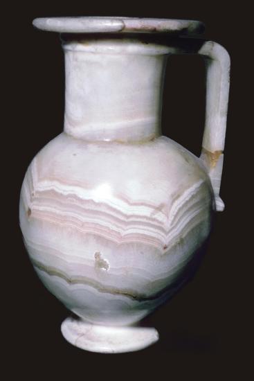 Egyptian Alabaster Jar. Artist: Unknown-Unknown-Giclee Print