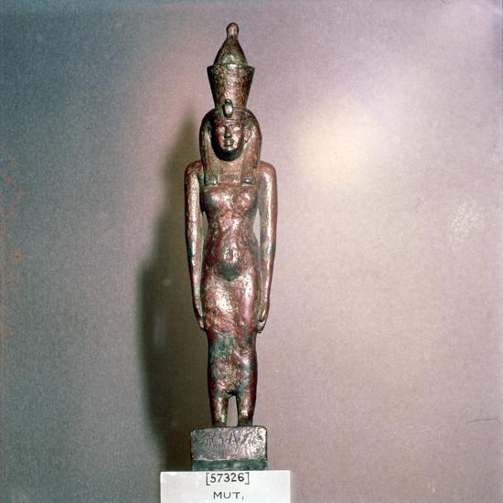 Egyptian bronze, Goddess Mut, Theban Mother-goddess, 18th Dynasty, c1550BC-1298BC-Unknown-Giclee Print