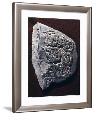 Egyptian Civilization, Predynastic Period, Commemorative Paletta with Relief--Framed Giclee Print