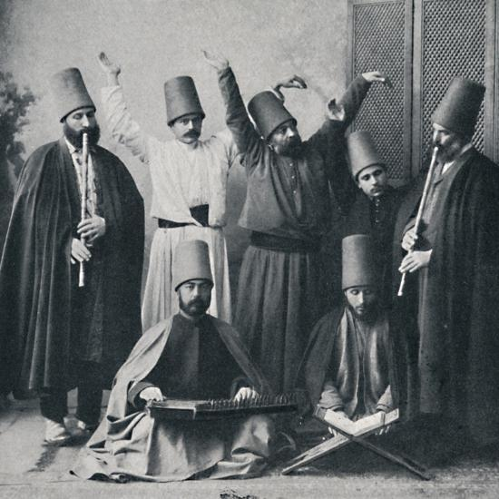 Egyptian dancing dervishes, 1912-Unknown-Photographic Print