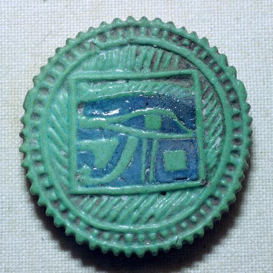 Egyptian faience amulet. Artist: Unknown-Unknown-Giclee Print