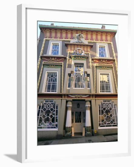 Egyptian House, Penzance, Cornwall, England, United Kingdom-Charles Bowman-Framed Photographic Print