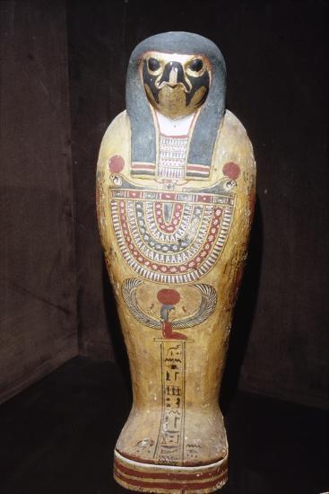 Egyptian Mummy of a Hawk representing Horus, c1st century BC-1st century-Unknown-Giclee Print