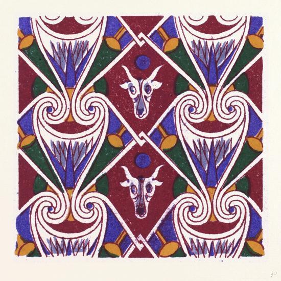 Egyptian Ornament--Giclee Print