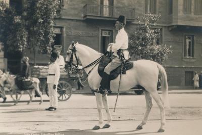 Egyptian Police, Cairo, Egypt, 1936--Photographic Print