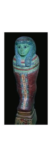 Egyptian Shabti figure. Artist: Unknown-Unknown-Giclee Print