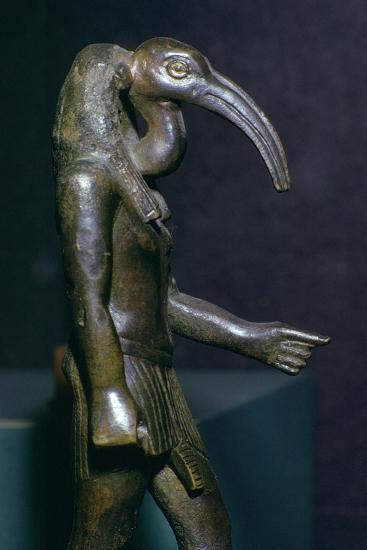 Egyptian statuette of Thoth, 7th century BC Artist: Unknown-Unknown-Giclee Print