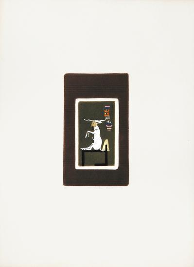 Egyptian Theme 1-Mireille Kramer-Limited Edition