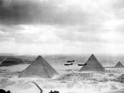 Egyptian WWII Pilots from Middle East Command Training