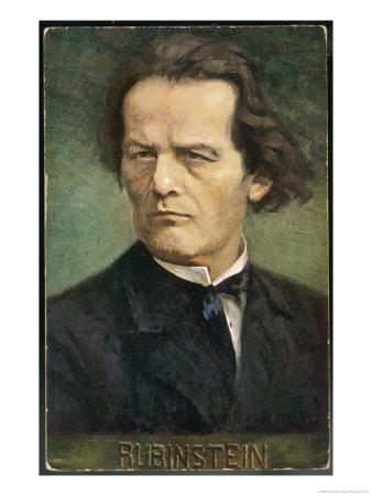 Anton Rubinstein Russian Musician