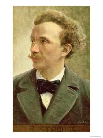 Postcard of Richard Strauss circa 1914
