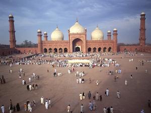 Eid Ul Fitr Celebration, Badshahi Mosque, Lahore, Pakistan