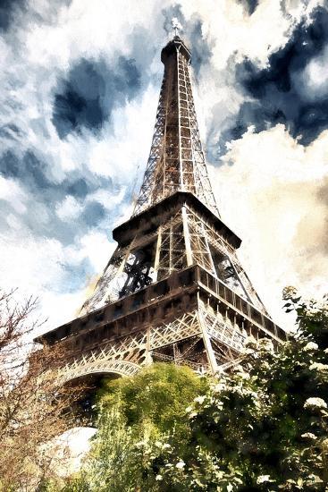 Eiffel Paris-Philippe Hugonnard-Giclee Print
