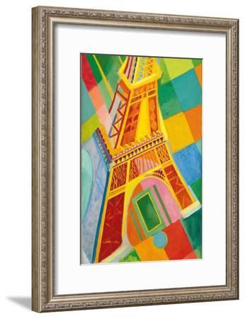 Eiffel Tower, 1926-Robert Delaunay-Framed Giclee Print