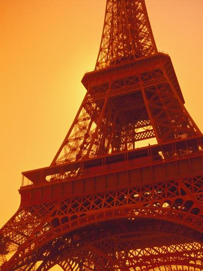 Eiffel Tower Against Sky-Lance Nelson-Photographic Print