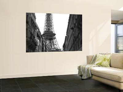 Eiffel Tower and River Seine, Paris, France-Jon Arnold-Wall Mural