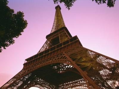 Eiffel Tower at Dusk, Paris, France, Europe