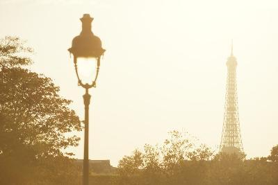 Eiffel Tower at Sunset, Paris, France, Europe-Craig Easton-Photographic Print